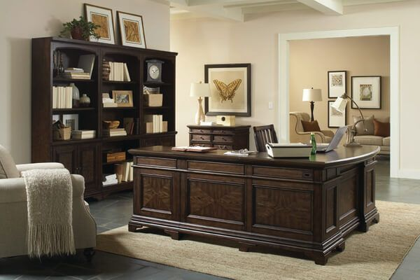 Aspen - Essex L-Shape and Bookcases